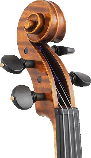 Verniciatura violino e piroli