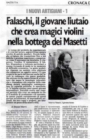 Federico Falaschi - Gazzetta di modena