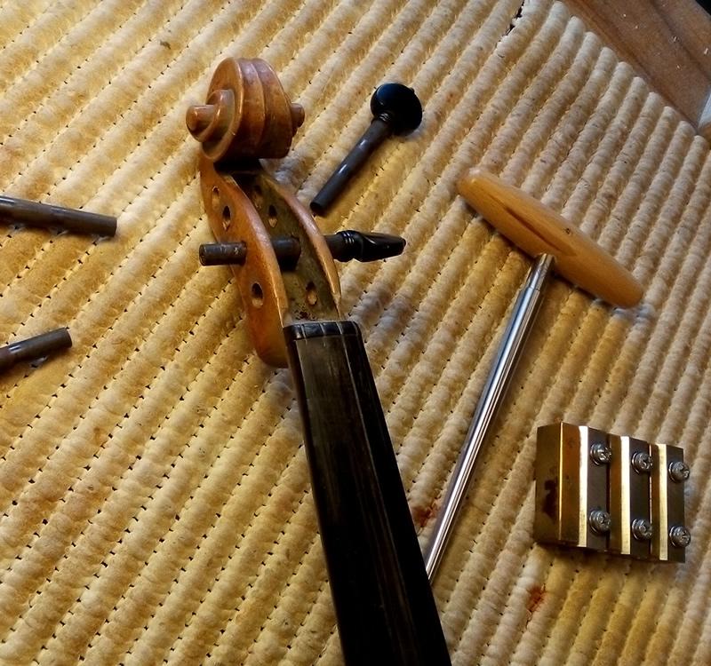 Liuteria Umbra: Violin maintenance